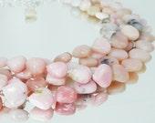 Big and Bold Multistrand Peruvian Pink Opal Necklace