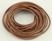 Natural Leather Cord - 5 yards