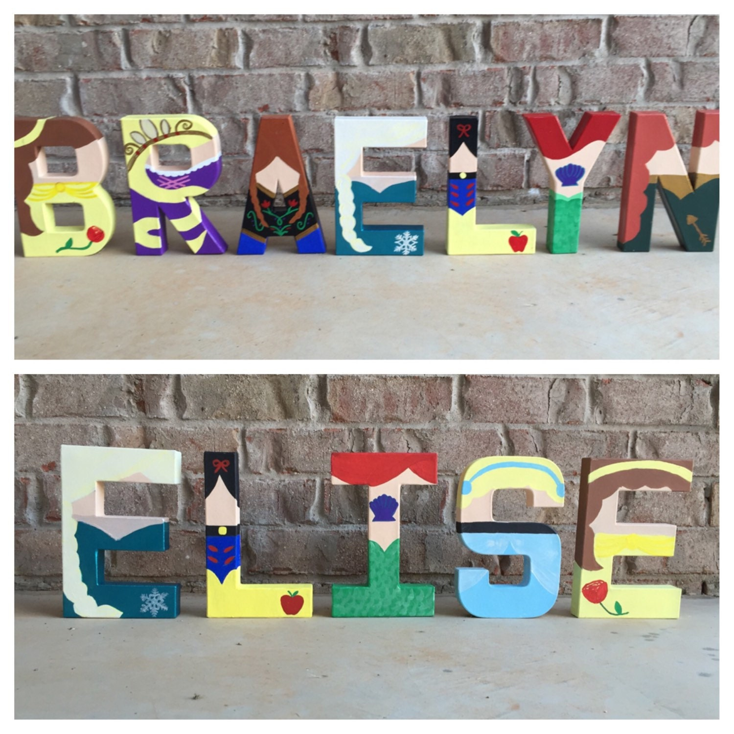 disney princess letters disney princess letters by leeseyannletters on etsy 351
