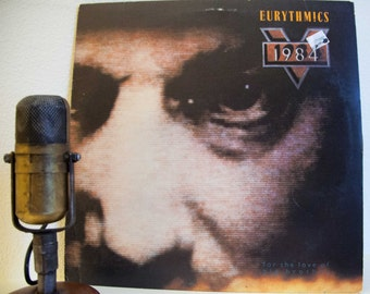 "ON SALE Eurythmics Vintage Vinyl LP Record Album 1980s Electronic Synth-Pop Big Brother Stage & Screen Dystopian theme ""1984""(1984 Rca w'""Se"