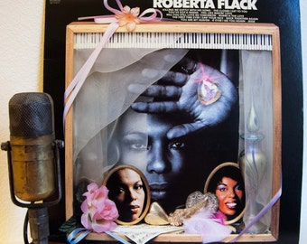 "Roberta Flack - ""The Best Of"" (Original 1981 Atlantic Records with ""Killing Me Softly"", ""The First Time Ever I Saw..."") - Vintage Vinyl"