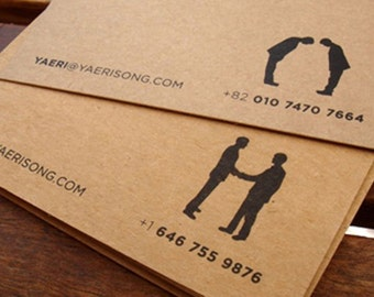 200 business cards or tags 13 pt brown kraft paper with 250 tags or business cards 2x5 single sided full color reheart Gallery
