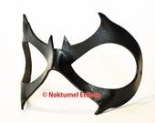 Batgirl Leather Mask Cosplay Halloween Superhero Batman DC Comics SDCC Comic Con Gotham City Geek Girls - Available Any Basic Color