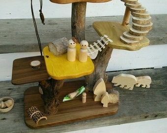 Large Treehouse/ fairy house - imaginative play