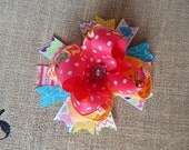 READY TO SHIP, Pink, Blue, Green, Yellow Hair Bow, Over the Top Hair Bow, Hair Bows, Hairbows, Holiday hair bow, 5.5 inchs