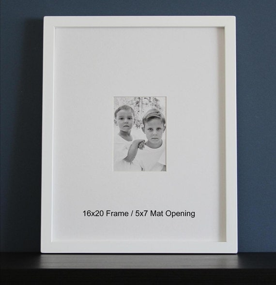 16x20 Picture Frame With Mat Gallery Style Choose Your