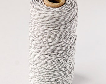 Baker's Twine Spool - White/Light Gray