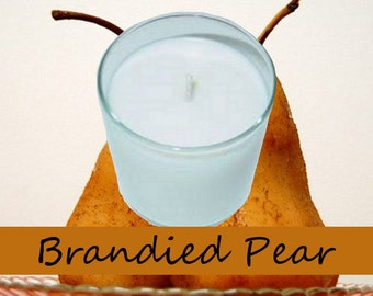 Brandied Pear Scented Candle in Tumbler 13 oz
