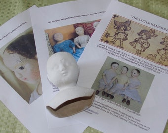 """Free postage Reproduction Izannah Walker Doll Kit  for Patience a 15"""" doll."""
