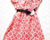 Girls Spring Dress - Spring Dress - Girls Dress - Baby Girls Dress - Baby Girls Dresses - Girls Dresses - Blush Dress - Coral Dress