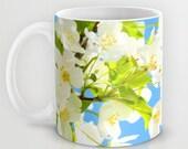 Art Coffee Cup Mug Bright Blooms fine art photography home decor