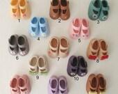 Felt Mary Jane Shoes for Hearts4Hearts Dolls or Similar Size Dolls