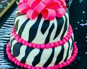 Zebra Table Runner, Zebra Party, Diva Party, Animal Print, Zebras, Black and white, Photo prop