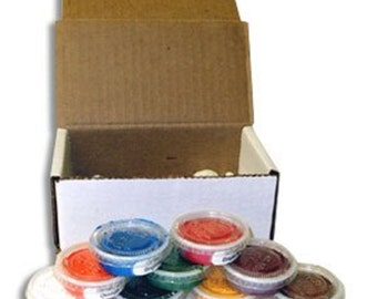 Watercolor Enamel Assortment by Thompson Enamel, Inc. for Glass and Metal