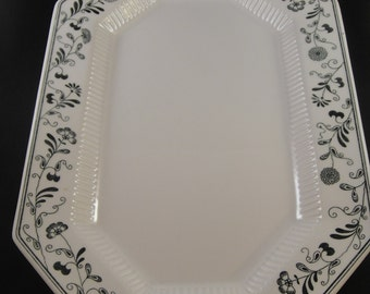 Independence Ironstone by Interpace Millbrook Pattern Oblong Serving Platter