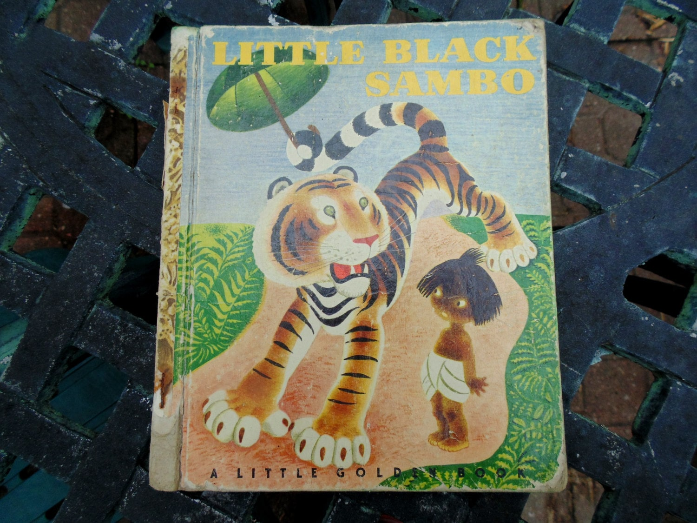 LITTLE BLACK SAMBO 1948 Little Golden Books B by ...