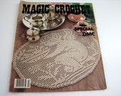 Vintage Magic Crochet Special DMC Pattern Booklet #2 - doilies - table mats - bedspreads - crocheted curtains and more!