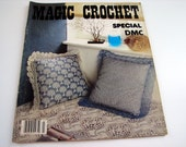 Special Edition MAGIC CROCHET #3 from the early 80's - pattern booklet - doilies-pillows-runners-bedspreads-tablecloths-29 patterns