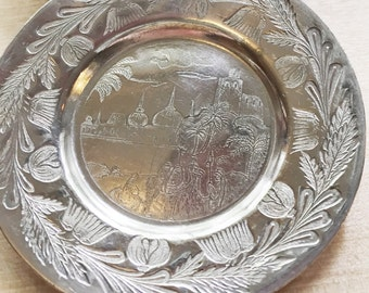 Set of 12 Antique Victorian Era Silver Plate Butter Pats