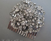 Rhinestone Hair Comb, Bridal Headpiece Crystal Comb, Wedding Accessories,tiara, Bridal Jewelry, Wedding Hair Comb
