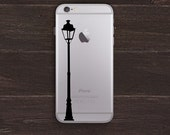 Vintage Lamppost Vinyl iPhone Decal BAS-0165