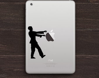 Zombie Walker Vinyl iPad Decal BAS-0231
