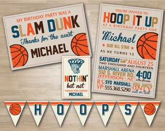 Basketball Birthday Party Package