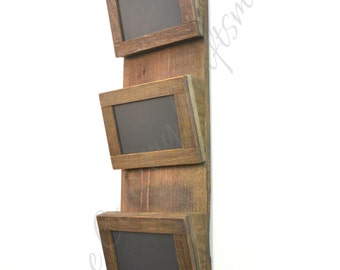 "ORGANIZER - ""Aspen"" - Wine Barrel Wall Hanging /Mail Sorter  - 100% recycled"