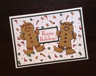 Gingerbread card