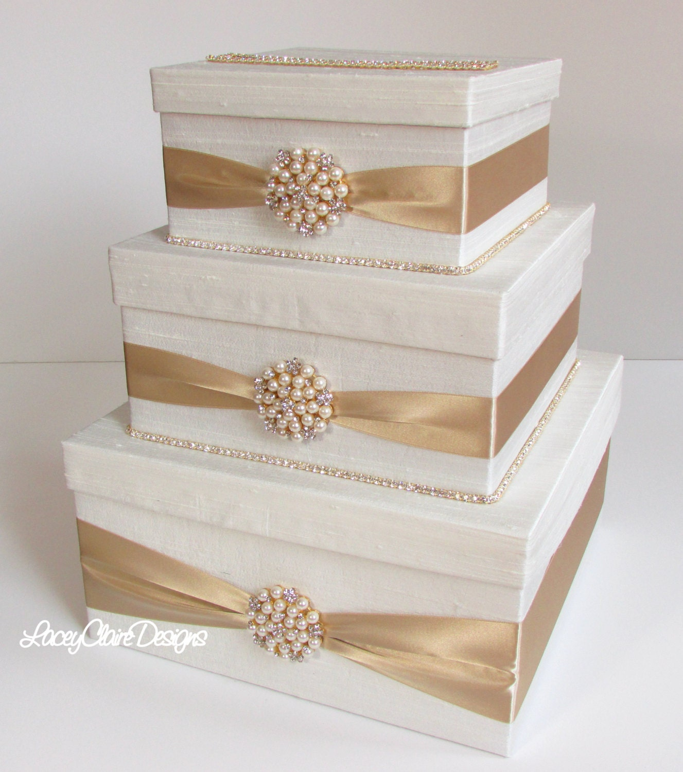 Gift Card Box For Wedding Reception: Wedding Card Box Bling Card Box Rhinestone Money Holder