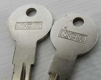 National Cash Register Keys- Free Shipping In The USA.