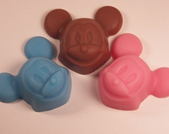 mickey soap glycerin soap handmade mouse soap scented in fresh squeezed orange