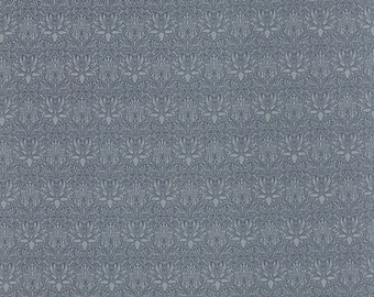 Best of Morris - Imperial in Light Blue by Barbara Brackman for Moda Fabrics