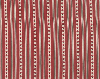 Joyeux Noel - Guirland in Rouge by French General for Moda Fabrics