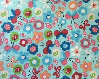 Cotton fabric Butterflies - 52 inch - LITTLE DARLING