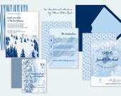 Ski Wedding Invitations