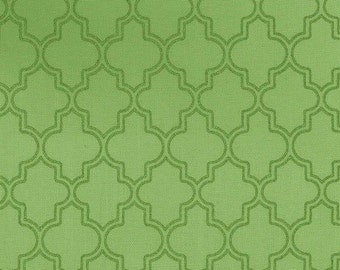 Green Pearl Quatrefoil