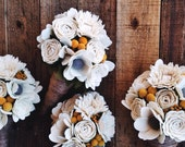 Felt Wedding Bouquet