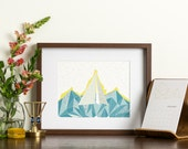 Abstract Art - Geometric Print- Ahoy