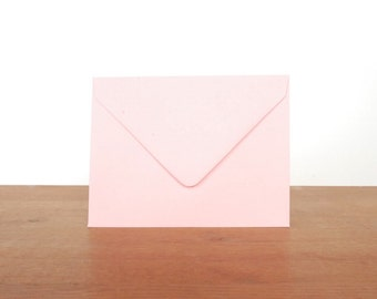 pink A2 envelopes: set of 10, blank
