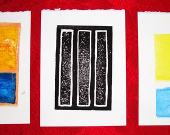 Rothko Homage Lithograph Print Series