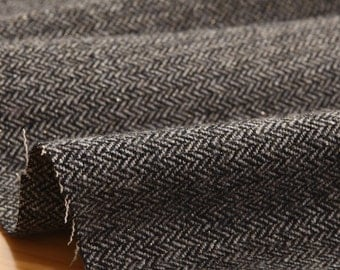 wide pearl mixed wool fabric 1yard (59 x 36 inches) 65230