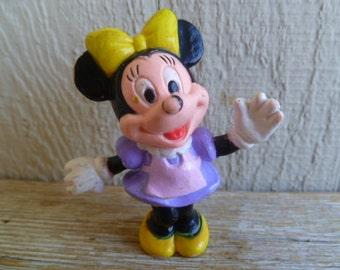 Disney Minnie Mouse Plastic Figurine Cake Topper