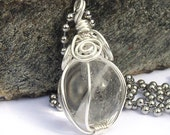 Crystal Ball Necklace Fortune Teller Jewelry