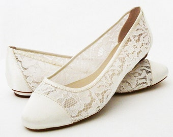Wedding Shoes - Shoes Flat Lace Shoes Womens Wedding Shoes- Wedding Flats Womens Shoes Wedding-Bridal Shoes, Pink 2 Blue Shoes