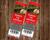 BASEBALL Invitation Card, free customization, printable Hi-Res Design
