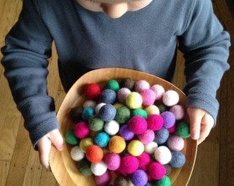 FREE GIFT Share this listing Holiday Decor, Nursery Decor, Kids Room Decor, Felt Balls, Felt Balls Party Decorations