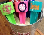 SALE Beach spiker drink holder cup holder great gift for vacation, camping, ballpark personalize with name or initials