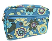 SALE Retro Flower Power Mod Small Suitcase Made in Japan