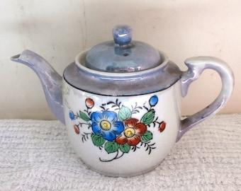 Japan Luster Tea Pot Single Cup